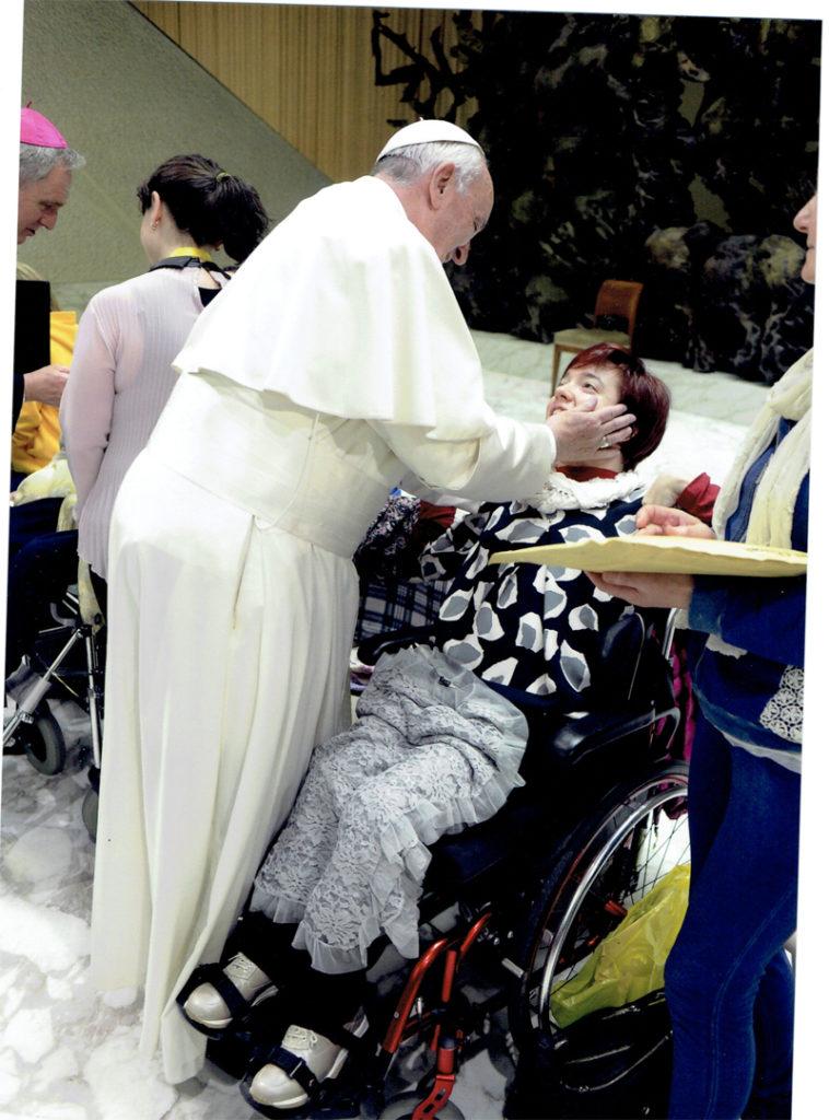 Foto con Papa Francescol n